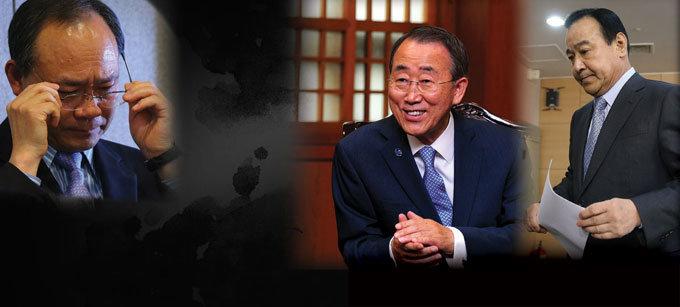 成 · 이완구 · 반기문· 親盧 '충청 커넥션' 의혹 추적