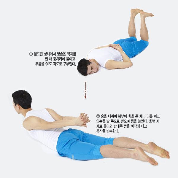 허리와 배, 코어 근육 강화하기
