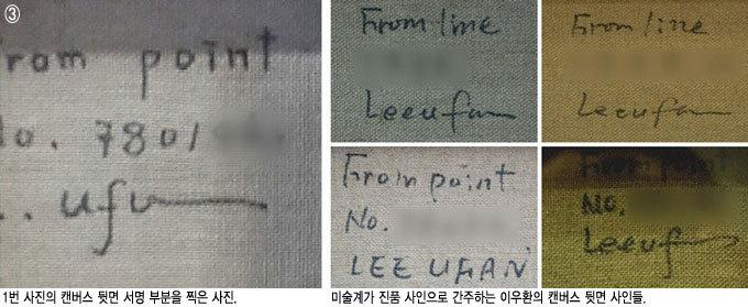 최고 경매가 한국화가 이우환 위작(僞作) 논란