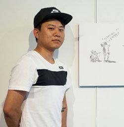 그림과 힙합으로 北 인권 알리는 탈북청년 강춘혁