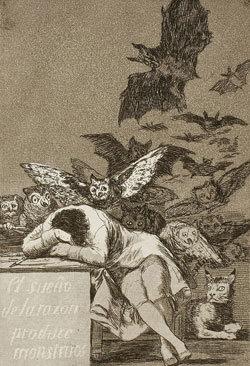 이성의 잠은 괴물을 낳는다 곤봉 결투