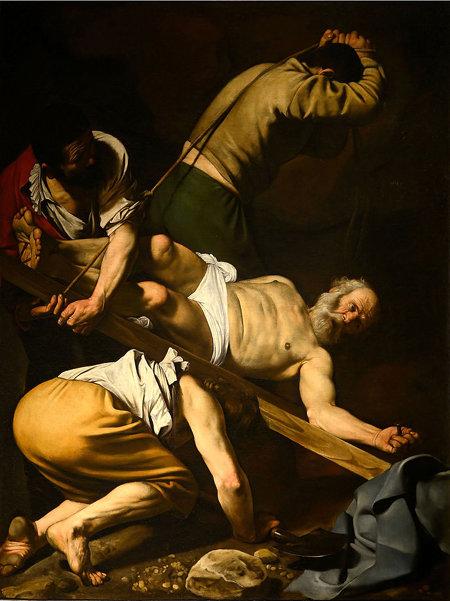 '성 베드로의 십자가형' '엠마오의 저녁식사'