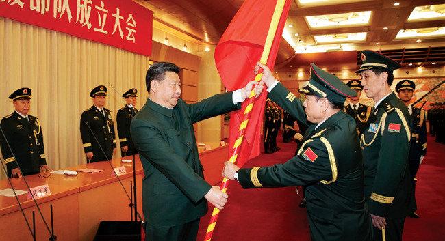 중국의 칼, 확 바뀐 인민해방군