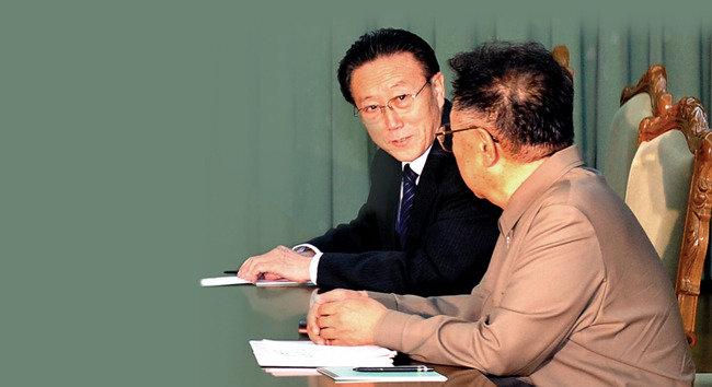 北 통전부장 김양건 김정일 사촌이었다?