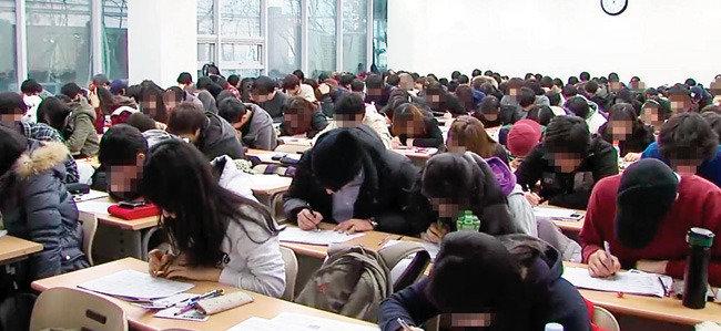 강남 학원가, 수강생 안전은 뒷전