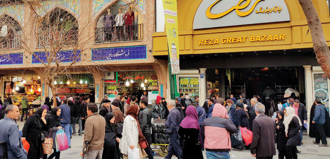 경제제재 해제, 들뜬 테헤란을 가다
