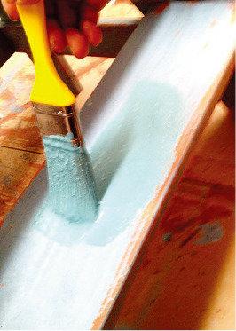 친환경  밀크 페인트 만들기