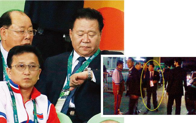 올림픽 외교는 없고 관광과 응원만