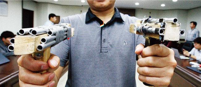 허술한 법망, 사람 잡은 사제총기
