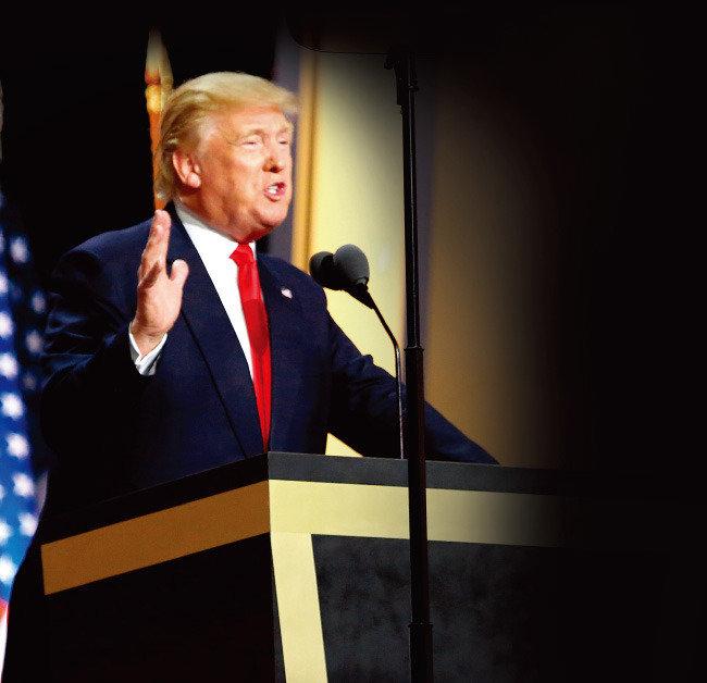 트럼프, 중국 겨냥한 포문 열었다