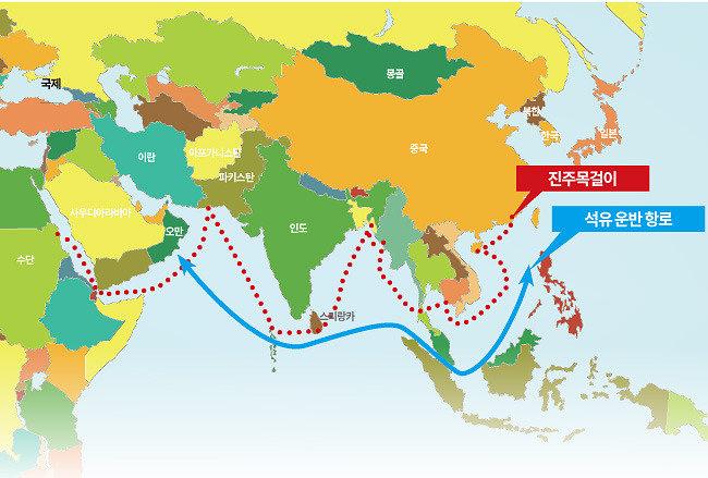 날개 단 중국의 진주목걸이 전략