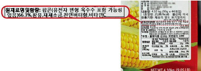 GMO 완전표시제를 許하라!
