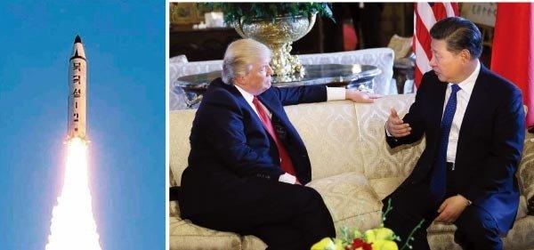 트럼프의 '사드 청구서'는 문재인 당선 대비한 포석