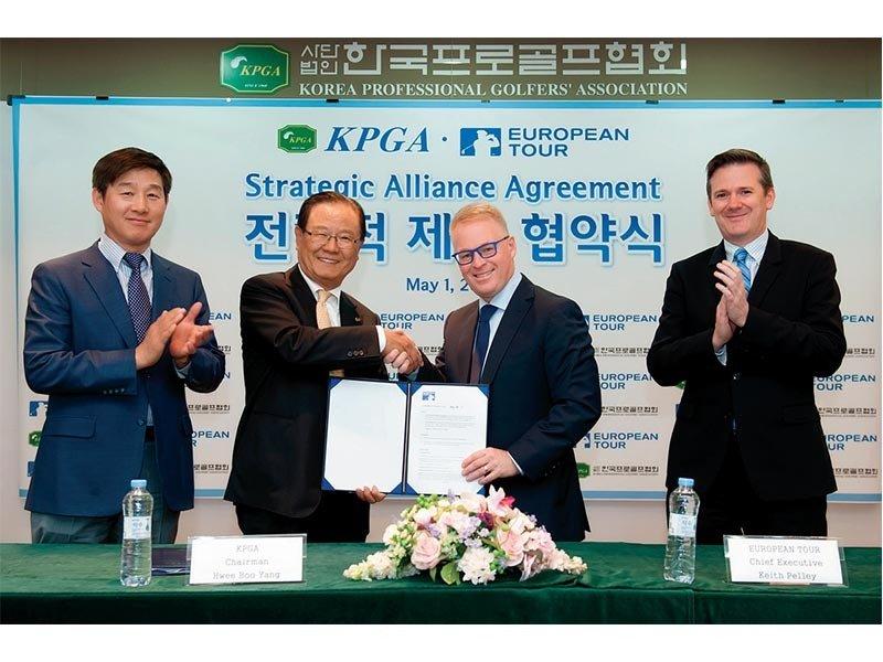 한국 남자 골프 유럽으로 날아오른다?