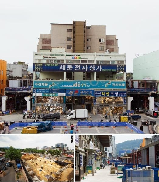 文 정부서 탄력받는 '세운상가 재생 사업'