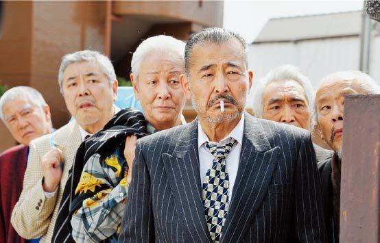 노인 야쿠자와 '7인의 사무라이'