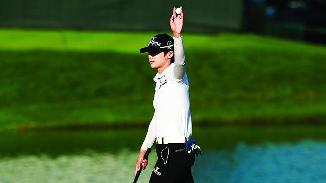 US여자오픈 우승 박성현-어머니와 이름 두 차례 눈물
