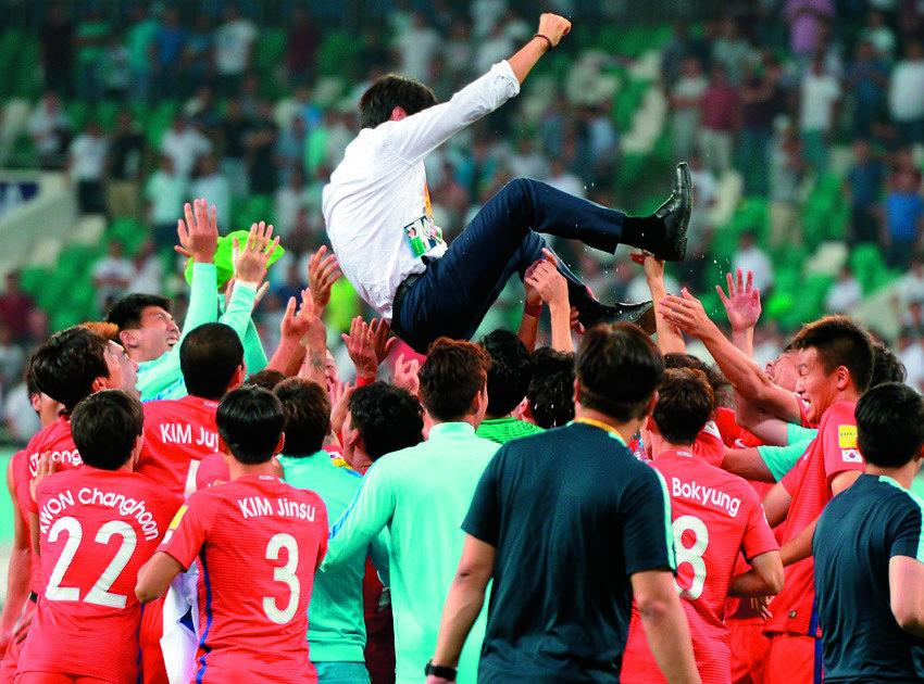 '월드컵 본선 진출당했네'