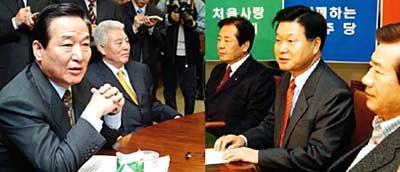 남북문제·재벌대책 '극과 극'