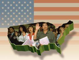 혼혈인, 미국 시민권 입맞춤하나