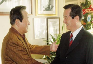 김혁규 의원, 상도동으로 간 까닭은
