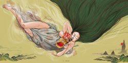 바람의 신 '영등할미'는 변덕쟁이