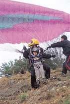 바람에 몸 띄워 하늘아 놀자!
