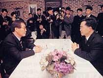 대안정치세력 '짝짓기 진통'