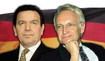 슈뢰더 독일 총리, 강적 만났네