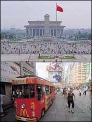 '발전의 쌍두마차' 베이징이냐 상하이냐