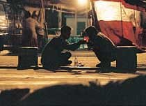 '희망 제로지대'의 노숙자들