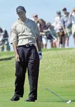 골프 하다 열 받는 날
