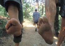 맨발의 청춘 '들로 산으로'