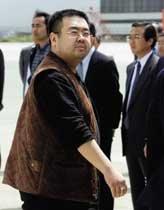 김정남 근신 끝났나 … 김정일과 함께 귀국