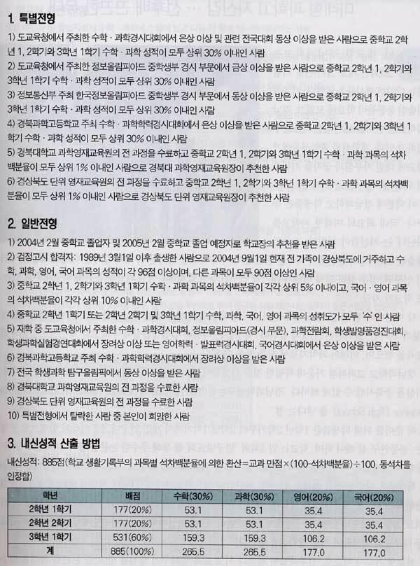 금나나씨 출신 학교 … 자기주도형 학습 '눈길'