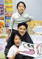 캐릭터 디자이너 된 '초등학생 자매'