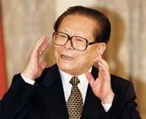 """장쩌민 """"마오 카리스마를 닮고 싶다"""""""