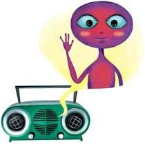 라디오 전파는 화성에서 오는 신호