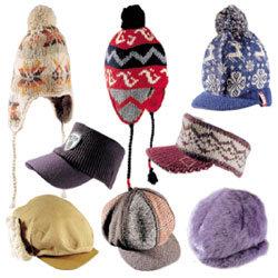 '멋과 보온' 모자는 시대의 상징