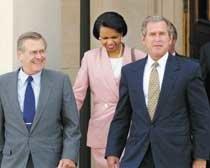 '독불장군' 외교정책, 사면초가 美 행정부