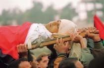 총탄에 스러지는 팔레스타인 어린 영혼