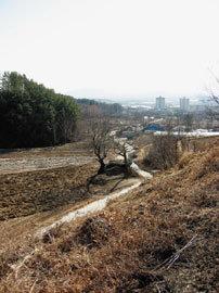 양지 지나 남한강 수계로 입성
