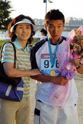 자폐증 청년의 마라톤 도전기