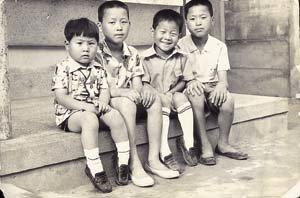 구두 형제와 고무신 형제