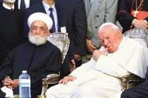 """교황 """"천 년의 종교 갈등 내 탓이오!"""""""