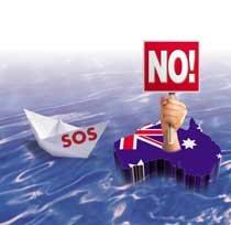 밀려드는 밀입국자… 몸살 앓는 호주