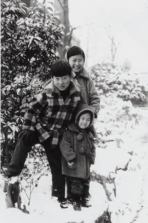 눈밭의 붕어빵 삼남매