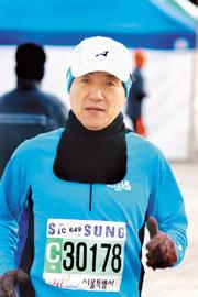 사랑 마라톤 6년 '감동 레이스'