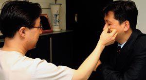 눈 밑 지방 '심술주머니' 레이저 시술로 인상 개선