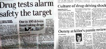 호주는 지금 '마약 운전' 과의 전쟁